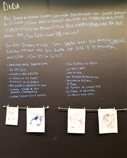 Exposición Colectivo Mero Muro: «una niña puede ser un gato»